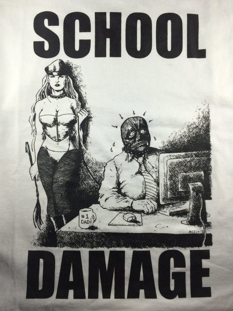 Image of SCHOOL DAMAGE - GET WEIRD