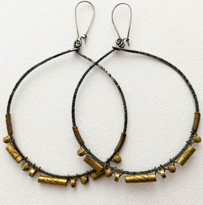 "Image of ""Lady Lux"" Hoops"