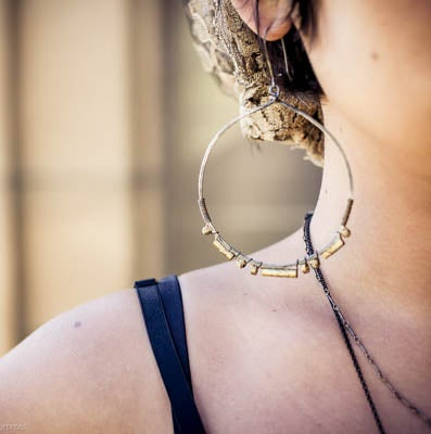 """Image of """"Lady Lux"""" Hoops"""