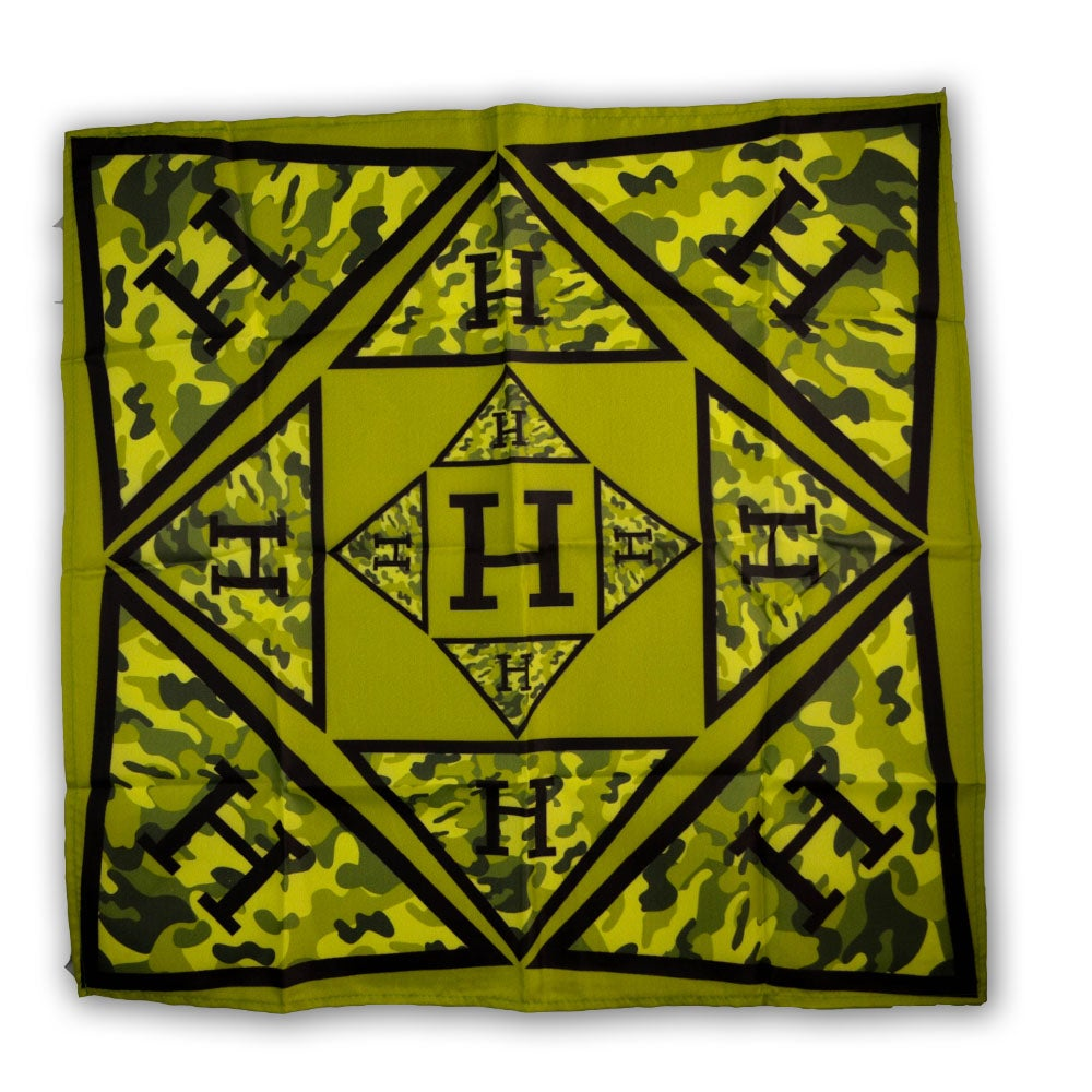 Image of Solid Logo Bandana in Camo