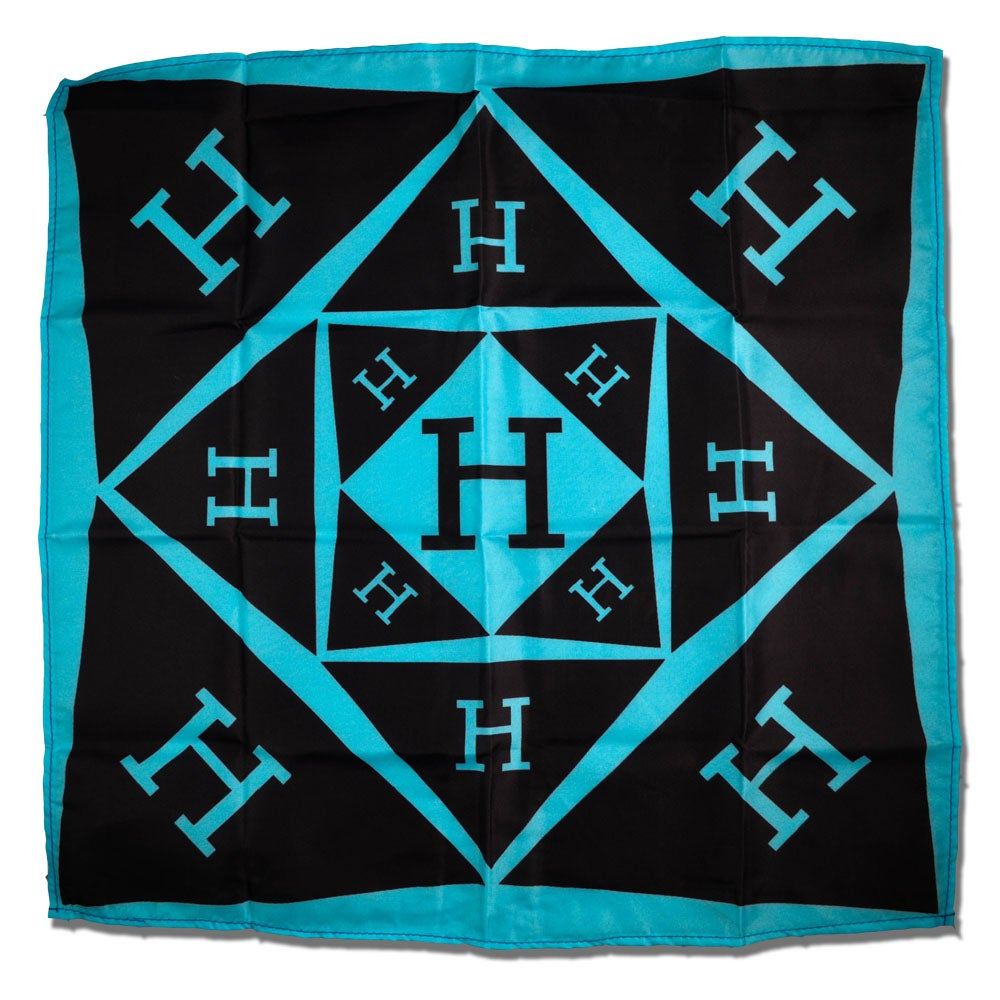 Image of Solid Logo Bandana in Teal
