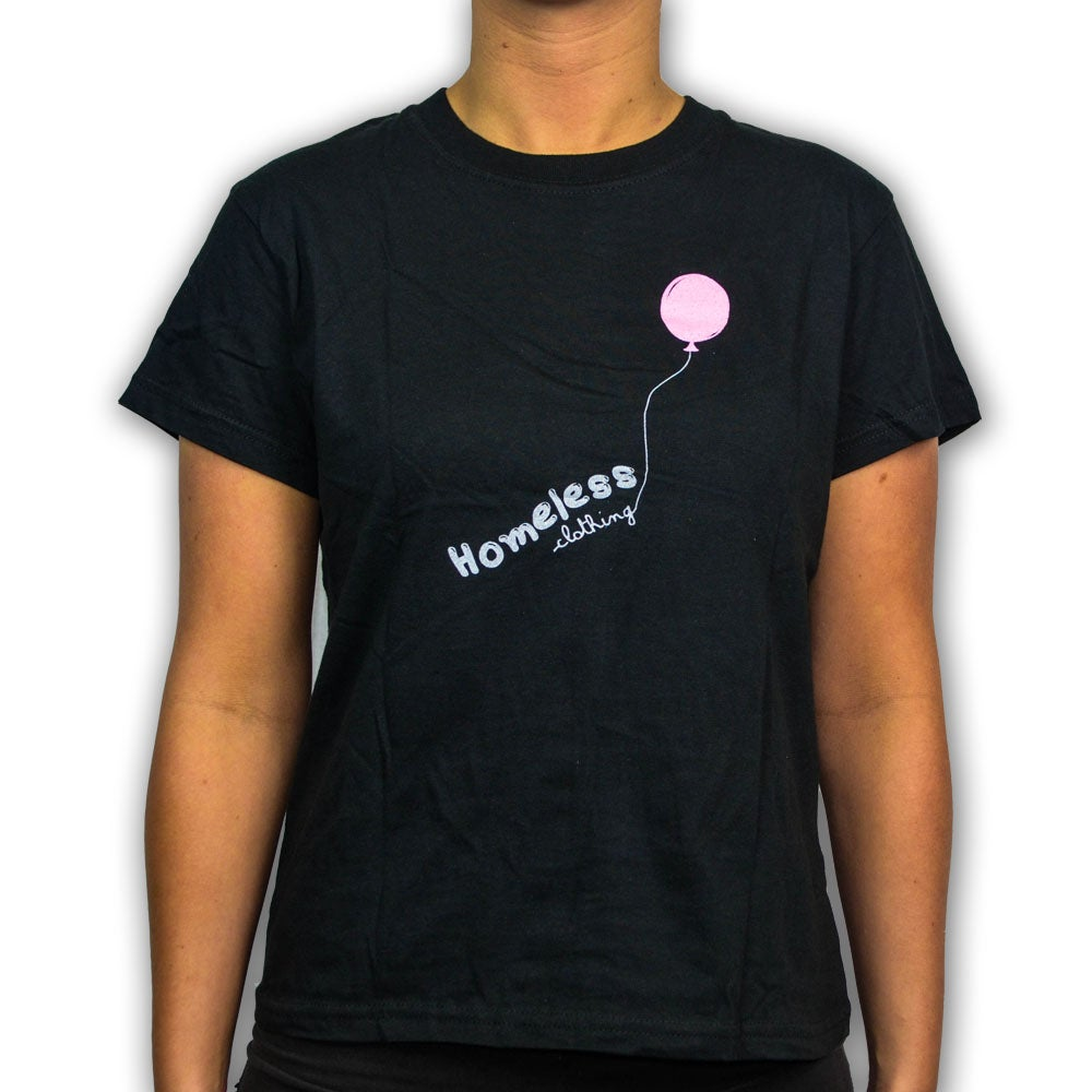 Image of Girls - Balloon Tee Black