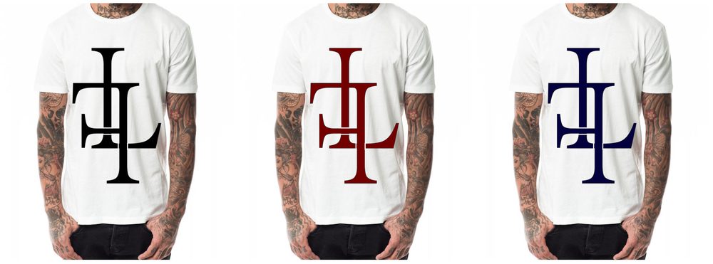 "Image of T-Shirt ""LF"", white"