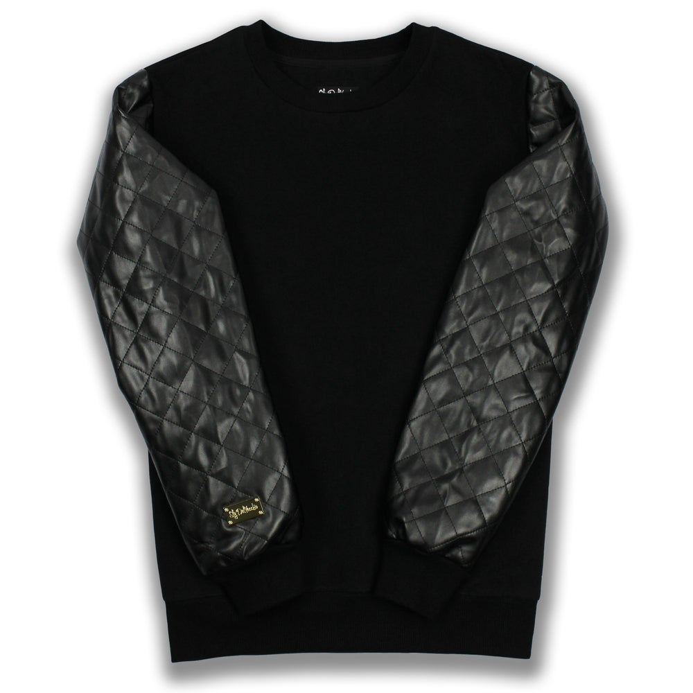 Image of Quilted Crewneck