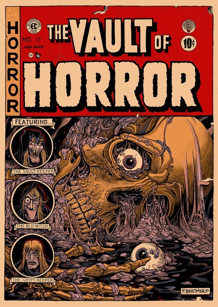 "Image of ""Vault Of Horror"" Artist Edition"