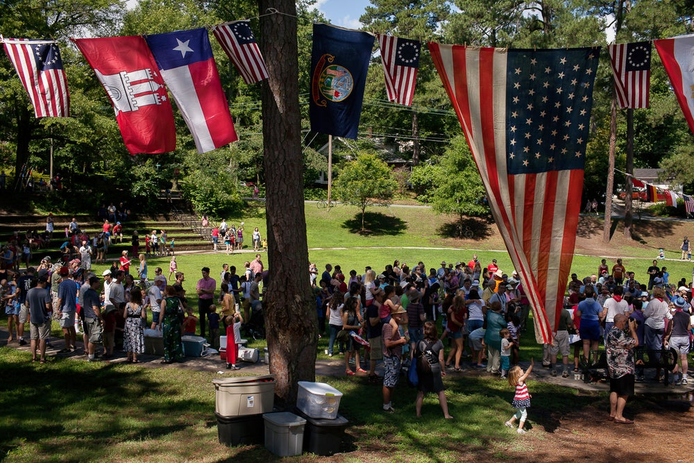 Image of Watts-Hillandale Independence Day Parade
