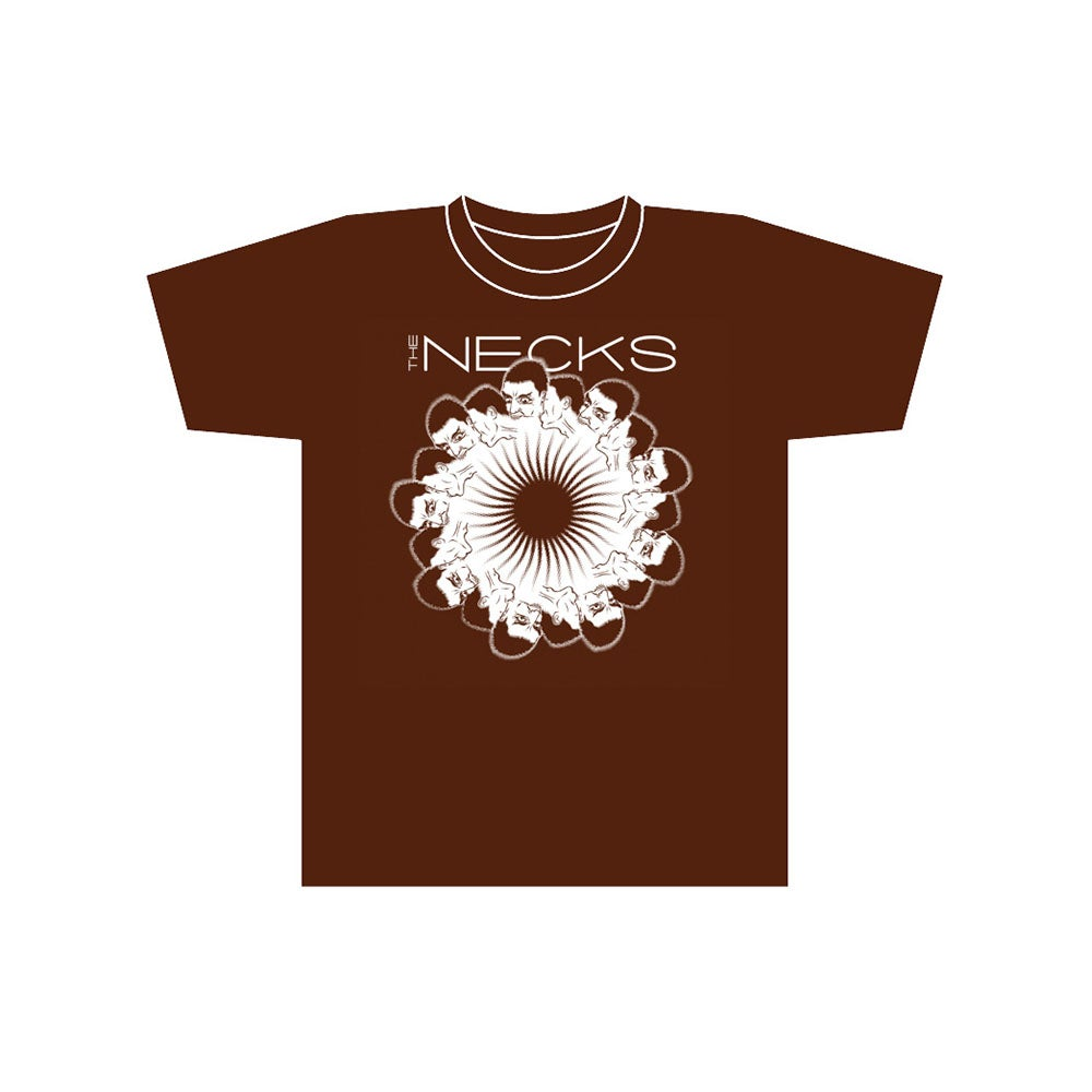 Image of T-Shirt<br> (The Necks - Swiss Choc Brown)