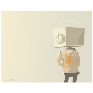 Drive, a Robot Tribute Print - Matt Q. Spangler Illustration
