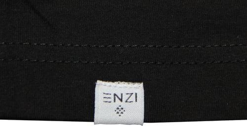 Image of ENZI Women's Black Khanga Tee