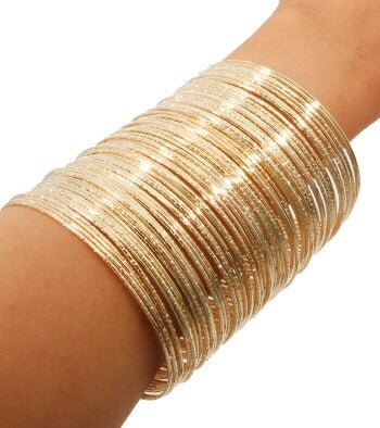 Image of Sparkling Thin Stackable Bangles