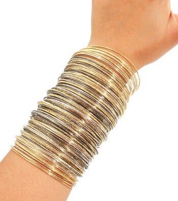 Image of Layered Metal Bangle