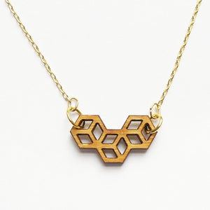 Image of Triple Cube Necklace
