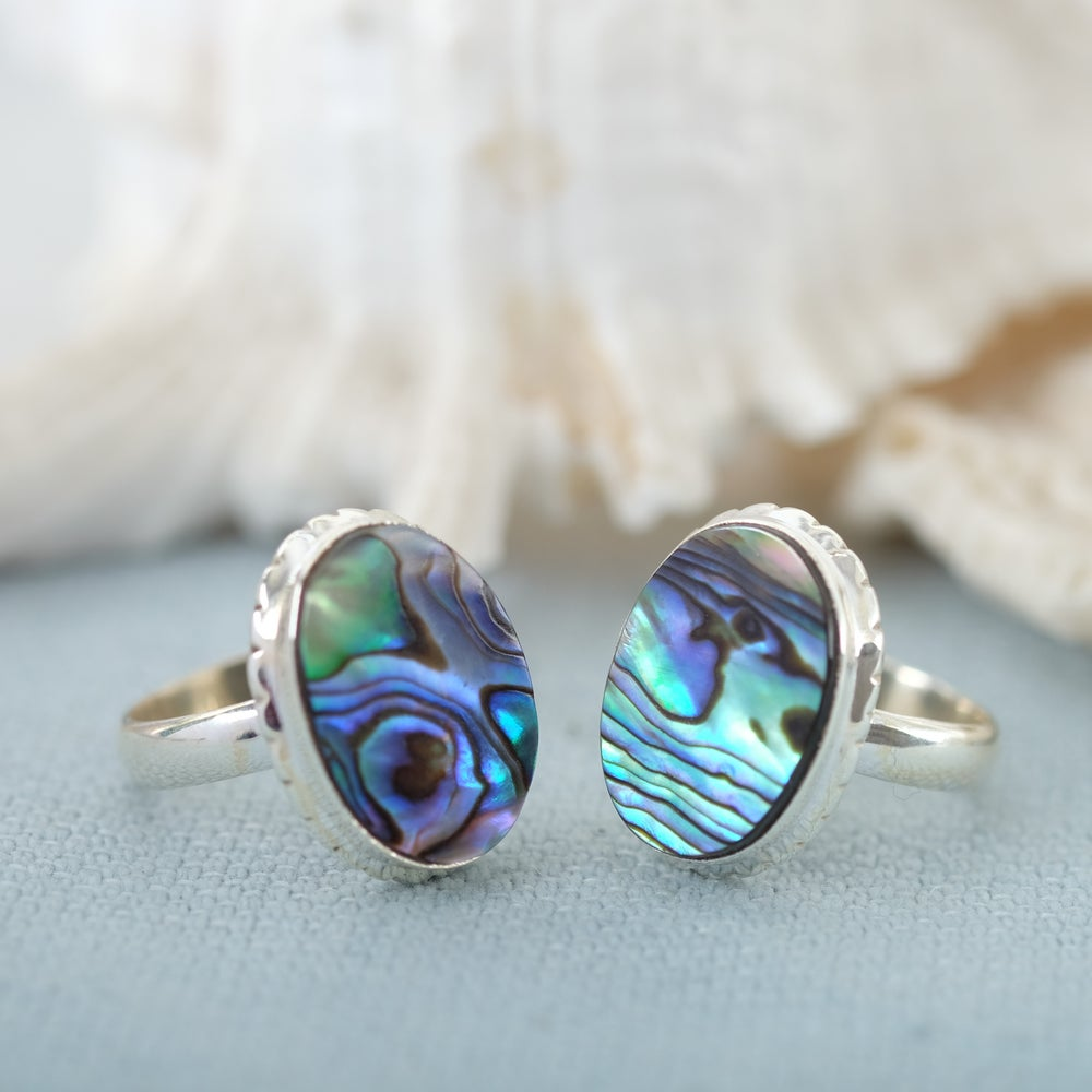 Image of Abalone Shell Ring