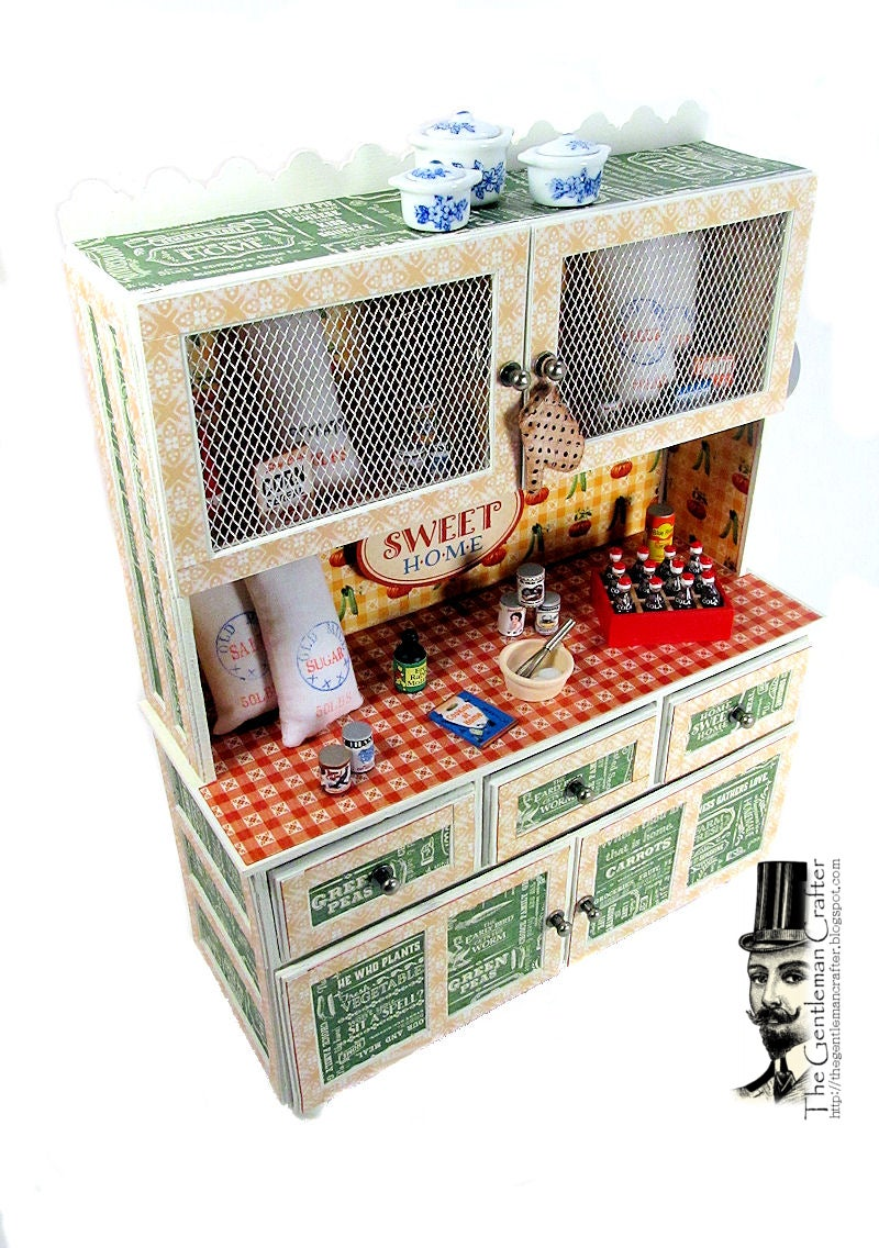 Image of CHA Home Sweet Home Hutch and Mini Tutorial- Instant DL