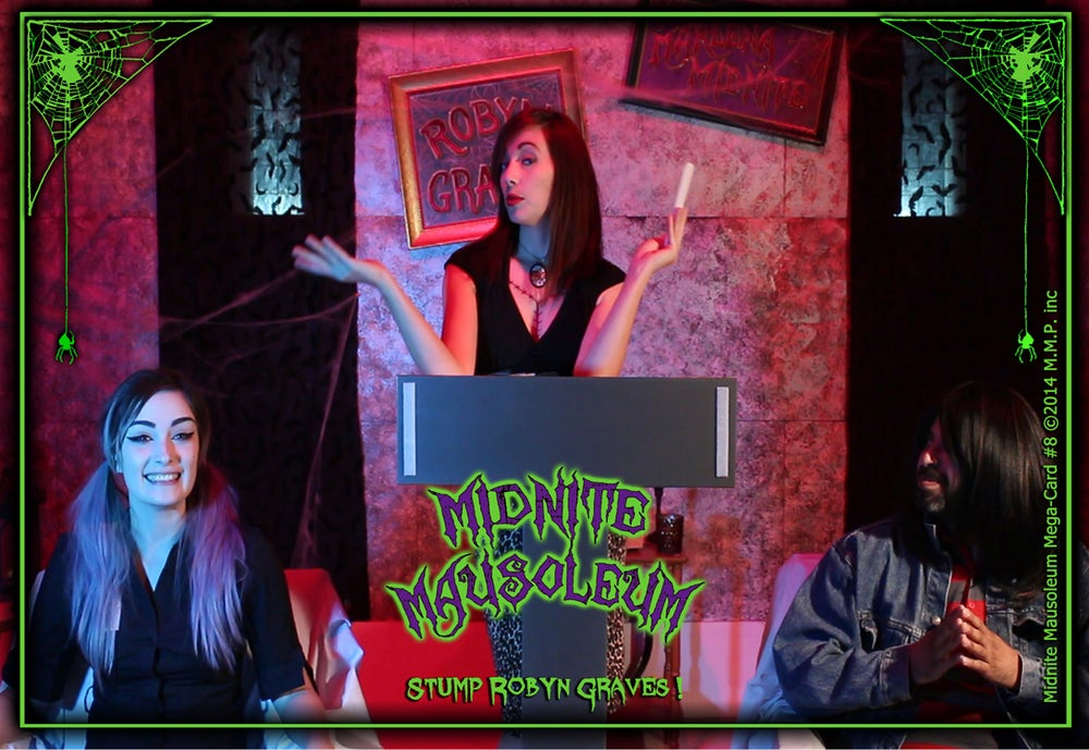 Image of *NEW* MIDNITE MAUSOLEUM TV Collection #8 DVD