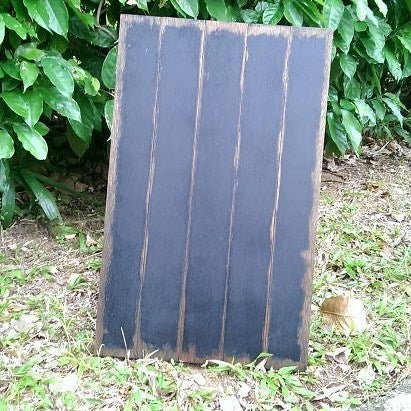 Thick Shabby Standing Chalkboard