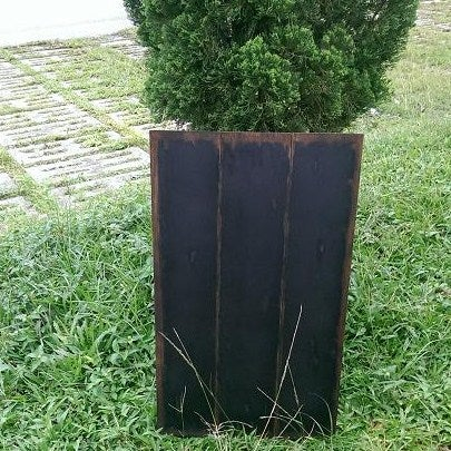 Image of Thin Shabby Standing Chalkboard