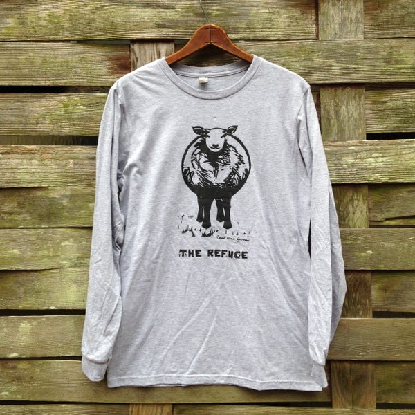 Image of Men | long sleeve, heather grey, Sheep logo