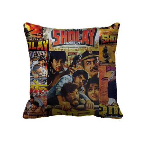 Image of Bollywood Sholay Cushion