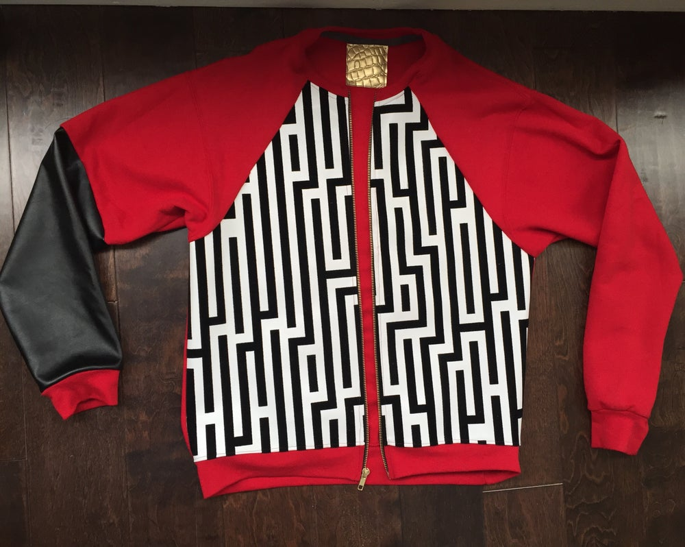 Image of Red Pyramid Jacket