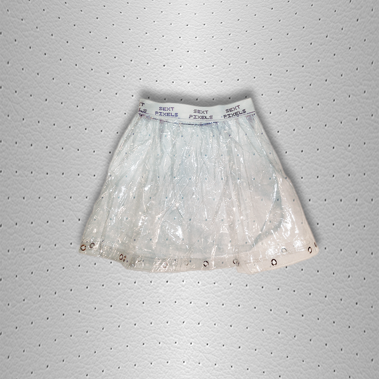 Image of sext pixels clear skirt