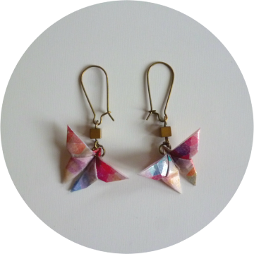 "Image of Boucles d'oreilles ""origami"""