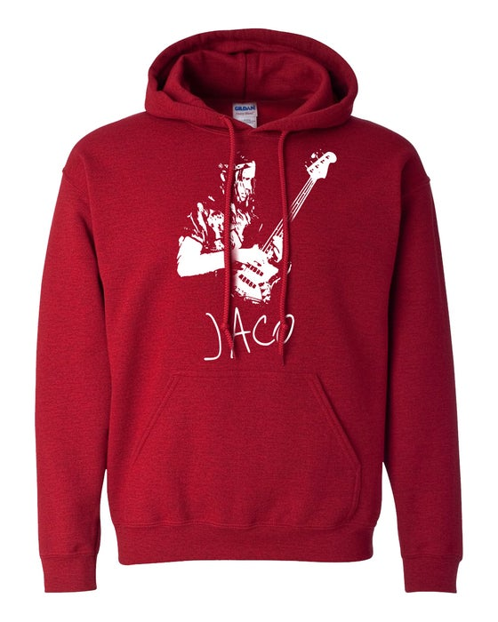 Image of Jaco Pastorius Hoodie (Antique Cherry)
