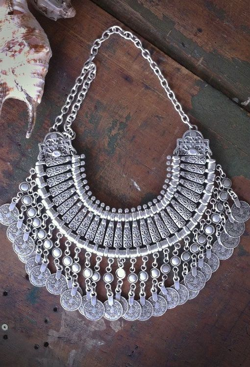 Image of Turkish Statement Necklace Medium