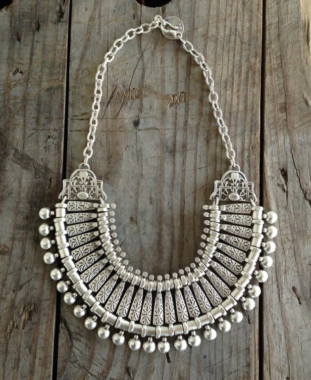 Image of Turkish Statement Necklace Small