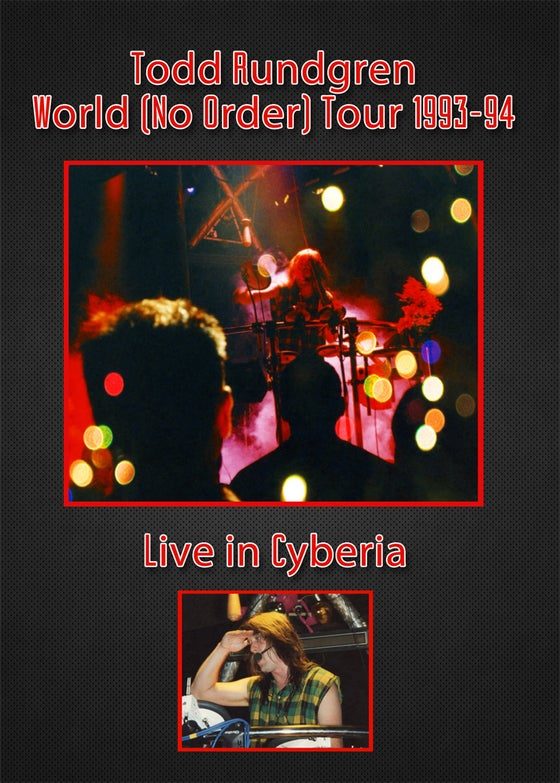 Image of TR Live In Cyberia DVD