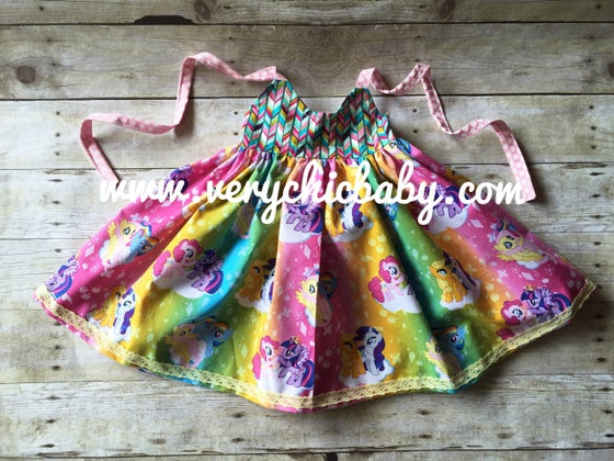 Image of Ombre MLP Dress