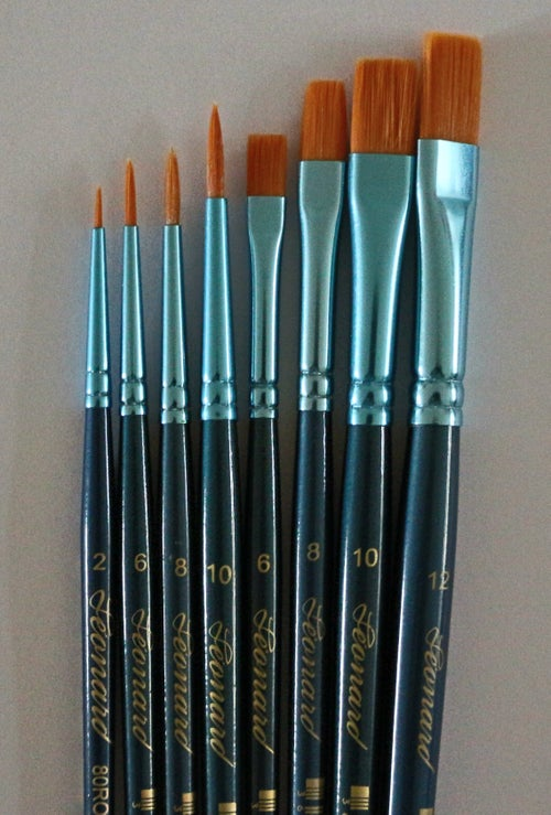 Image of Pinselset 4-teilig, 6-teilig, 8-teilig, und 10-teilig / Set of Brushes