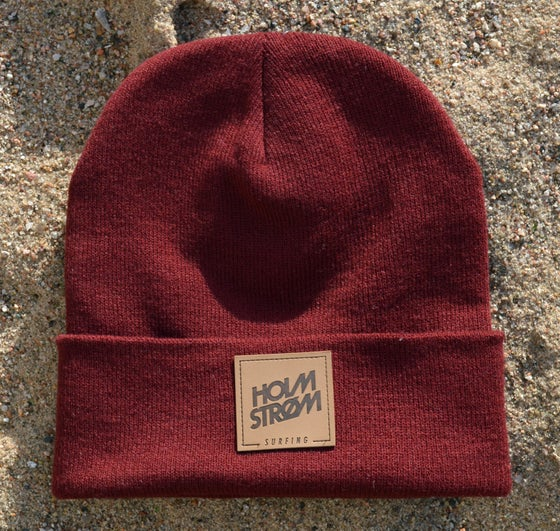 Image of Holmstrøm Beanie - Bordeaux