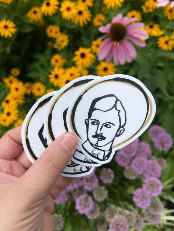 Image of Blessed Karl of Austria - Matte Sticker