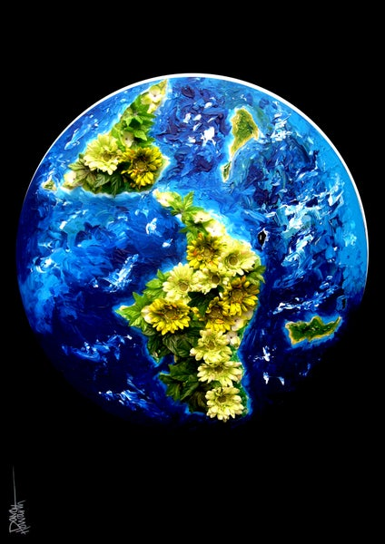 Image of WORLD (LIMITED EDITION PRINT)