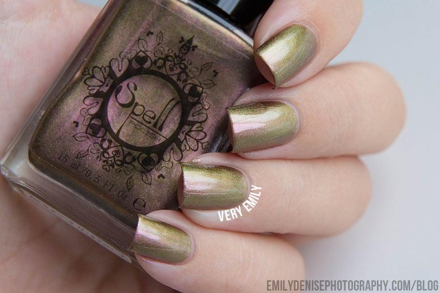 Magichromes™ SPELL POLISH ~Erasing History~ color shifting nail ...