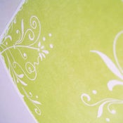 Image of 'Fresh', Letterpress Cards (Set of 6, yellow)