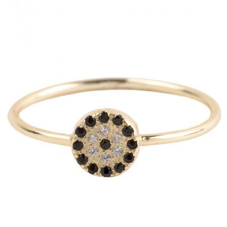 Image of Anillo FELICITY Golden & Silver