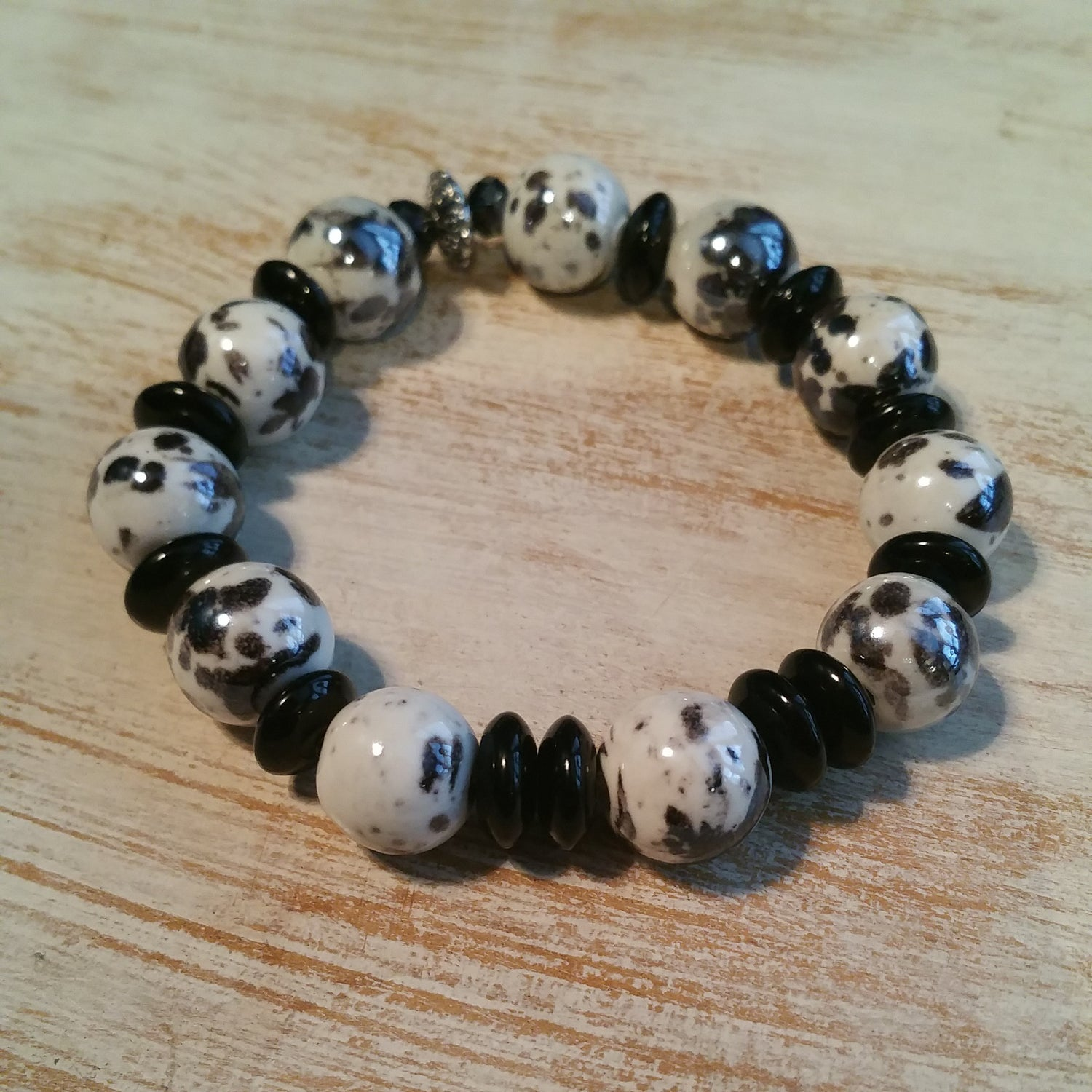 Image of COOKIES AND CREAM BRACELET