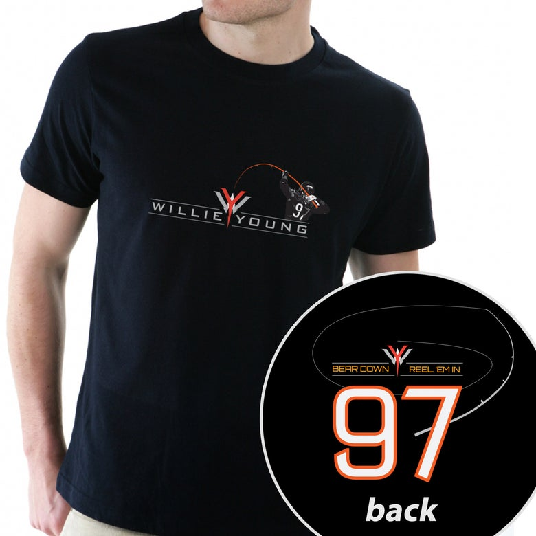 Image of Willie Young t-shirt - Black