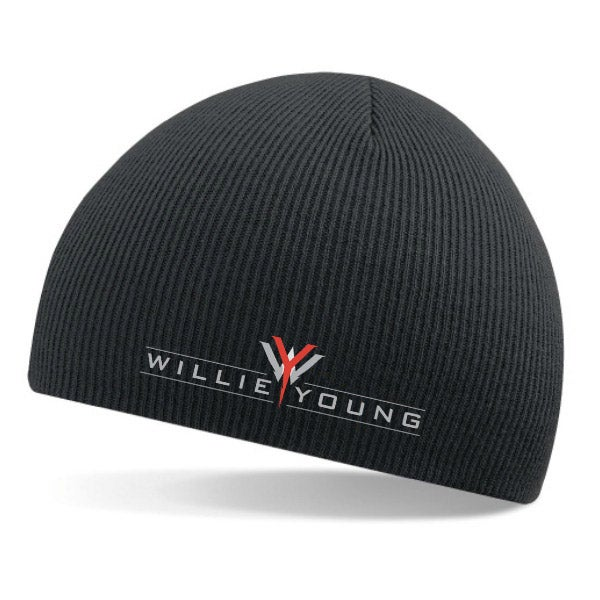 Image of Willie Young knit beanie cap / hat