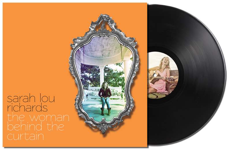 Image of The Woman Behind The Curtain - Deluxe EP Vinyl 12""
