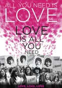 Image of All You Need is Love Tea Towel