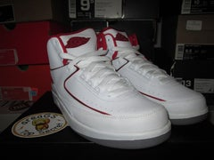 "Air Jordan II (2) Retro ""White/Red"" GS - areaGS - KIDS SIZE ONLY"