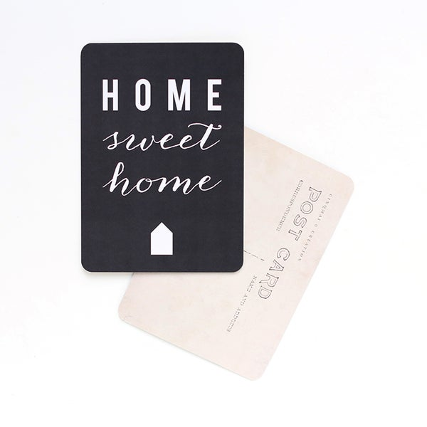 Image of Carte Postale HOME SWEET HOME