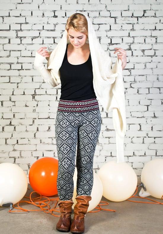 Image of Sleeve scarf white