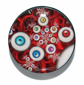 Image of Infinite Eyes Abstract Acrylic Plugs