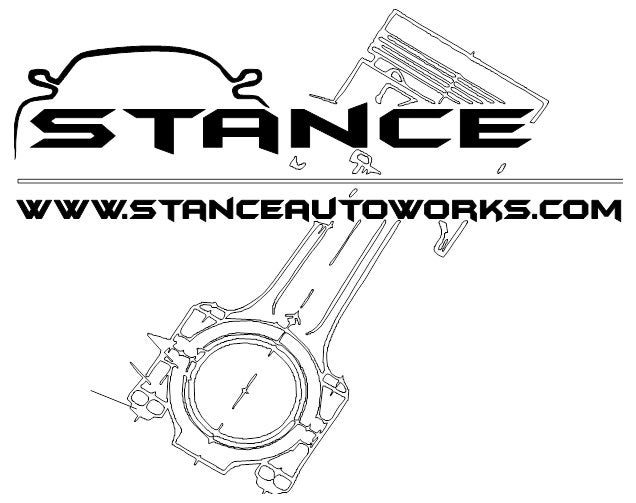 Image of STANCE AUTOWORKS PISTON DECAL