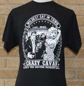 Image of WILDEST CAT IN TOWN T-SHIRT (MENS)