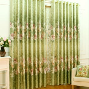 Image of Elegant shower curtain should pay attention to the choice of fabric
